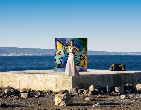 Kako izgleda kad se spoje street art, priroda i vjenčanice hrvatskog dizajnerskog potpisa?