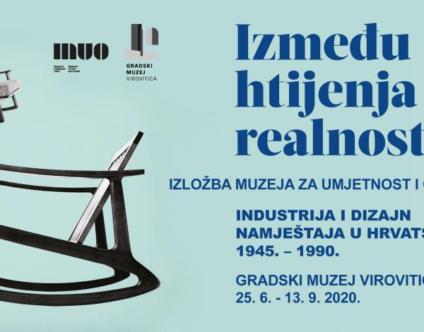 Izložba Muzeja za umjetnost i obrt o povijesti industrijskog i dizajnerskog namještaja gostuje u Virovitici
