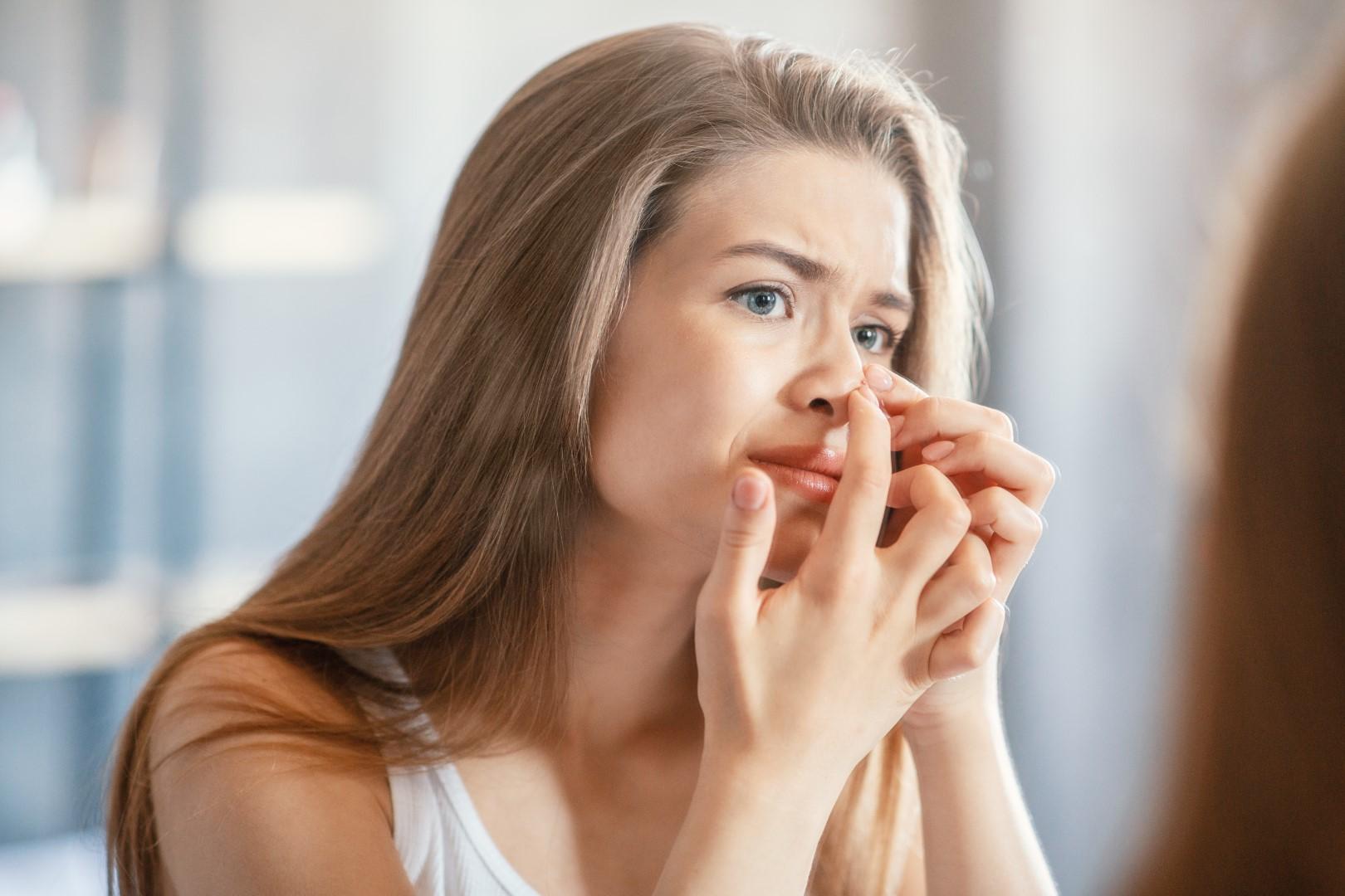 depiliranje dlačica u nosu