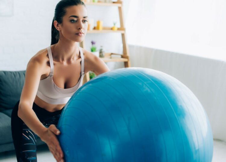 fitness lopte