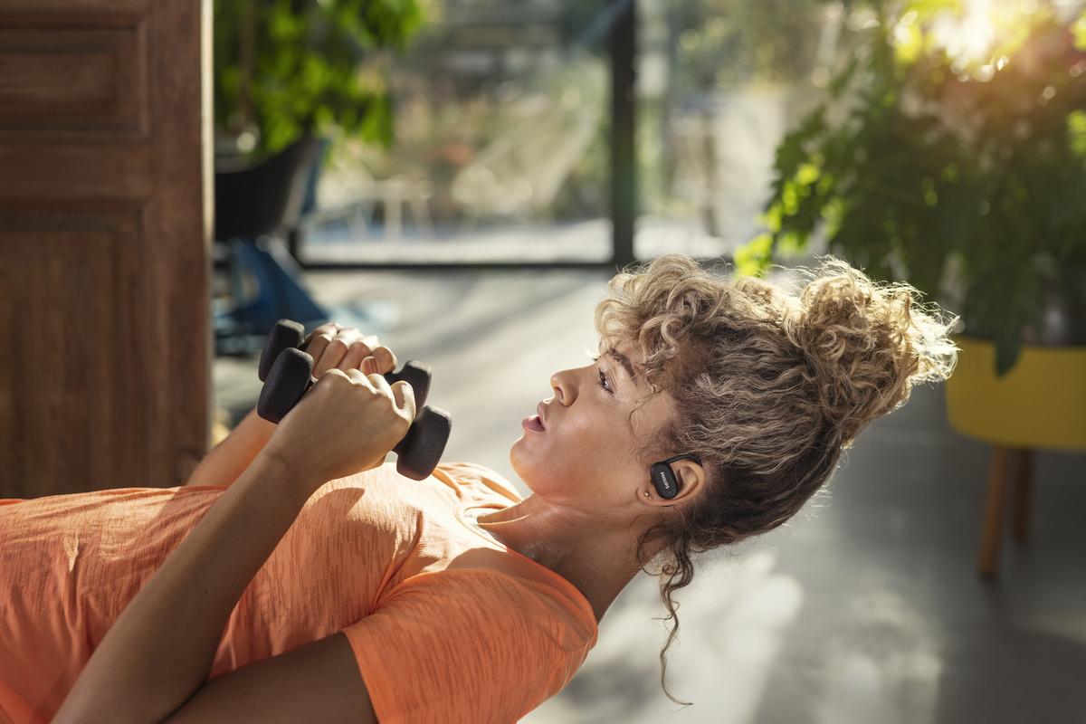 slušalice za trening