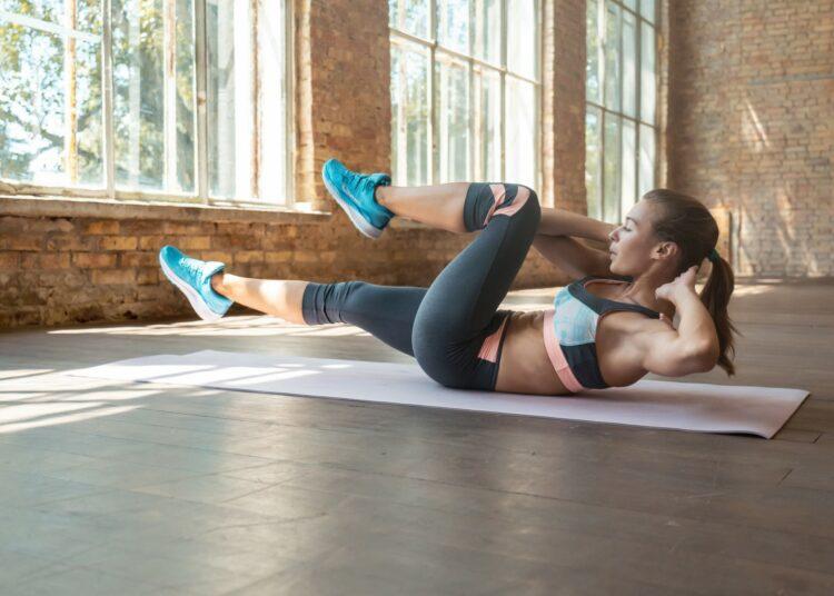 vježbe za ravan trbuh