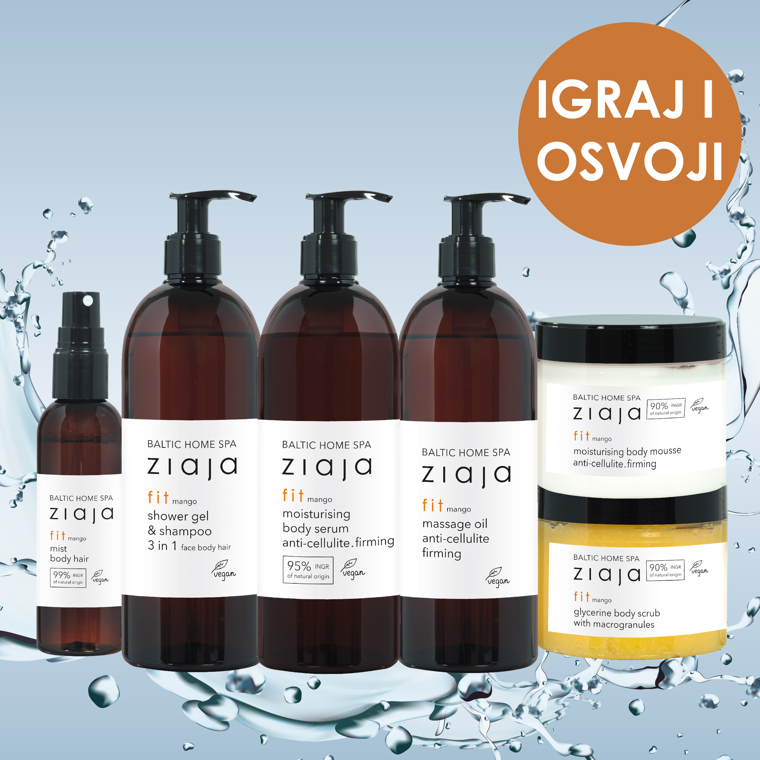 Ziaja Baltic home spa fit giveaway