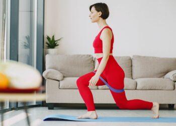 pilates, čučnjevi, vježba