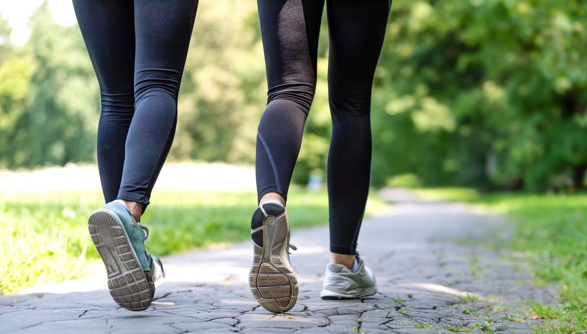 hodanje, trčanje