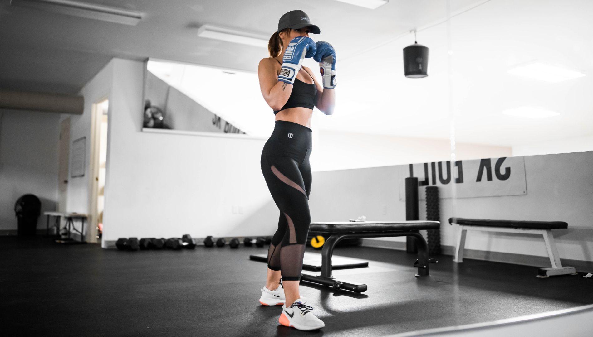 boks, vježba