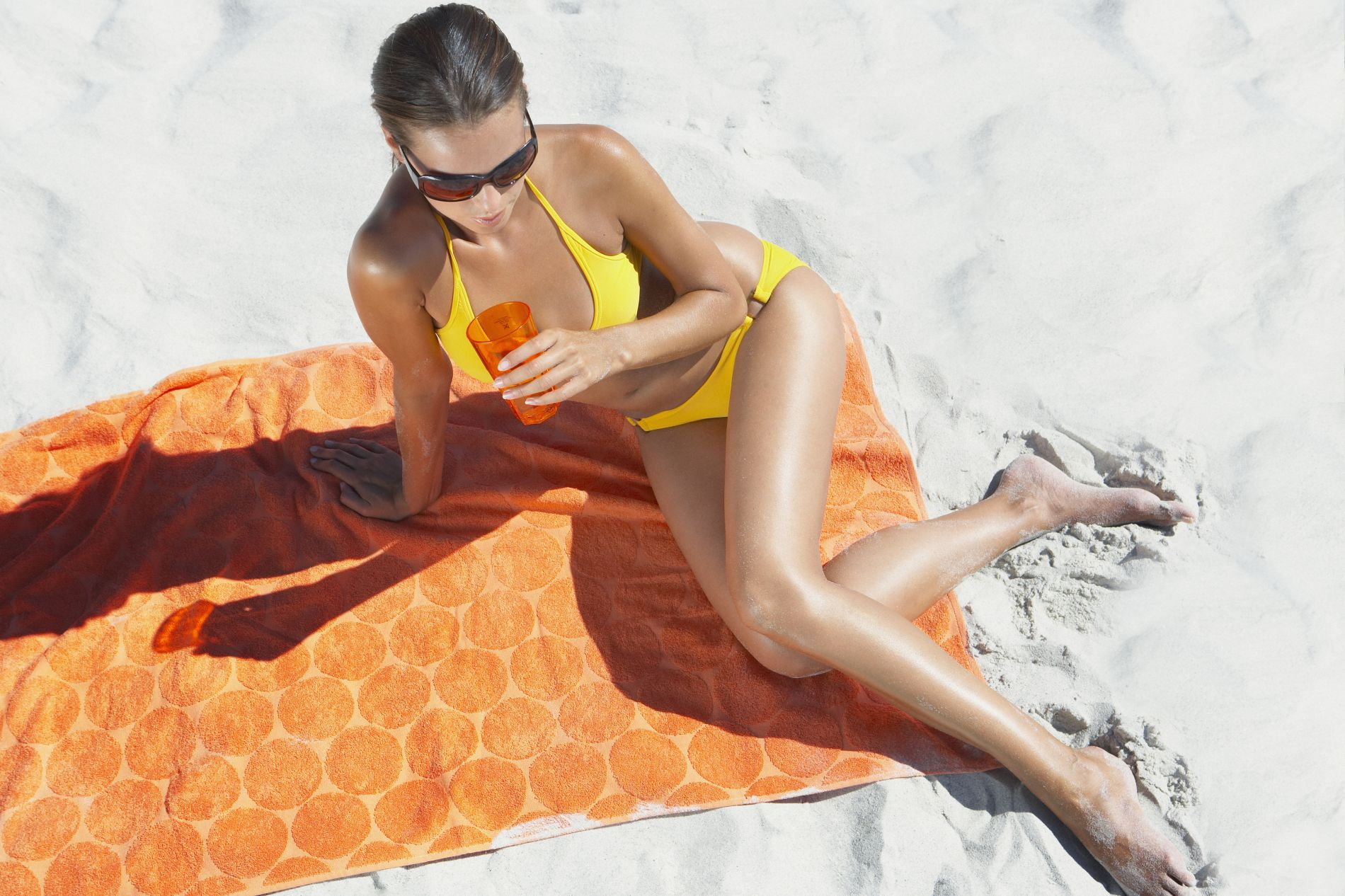 ručnik za plažu, plaža