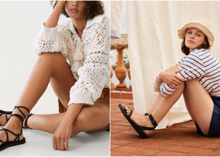 sandale, ravne sandale, sandale na sniženju