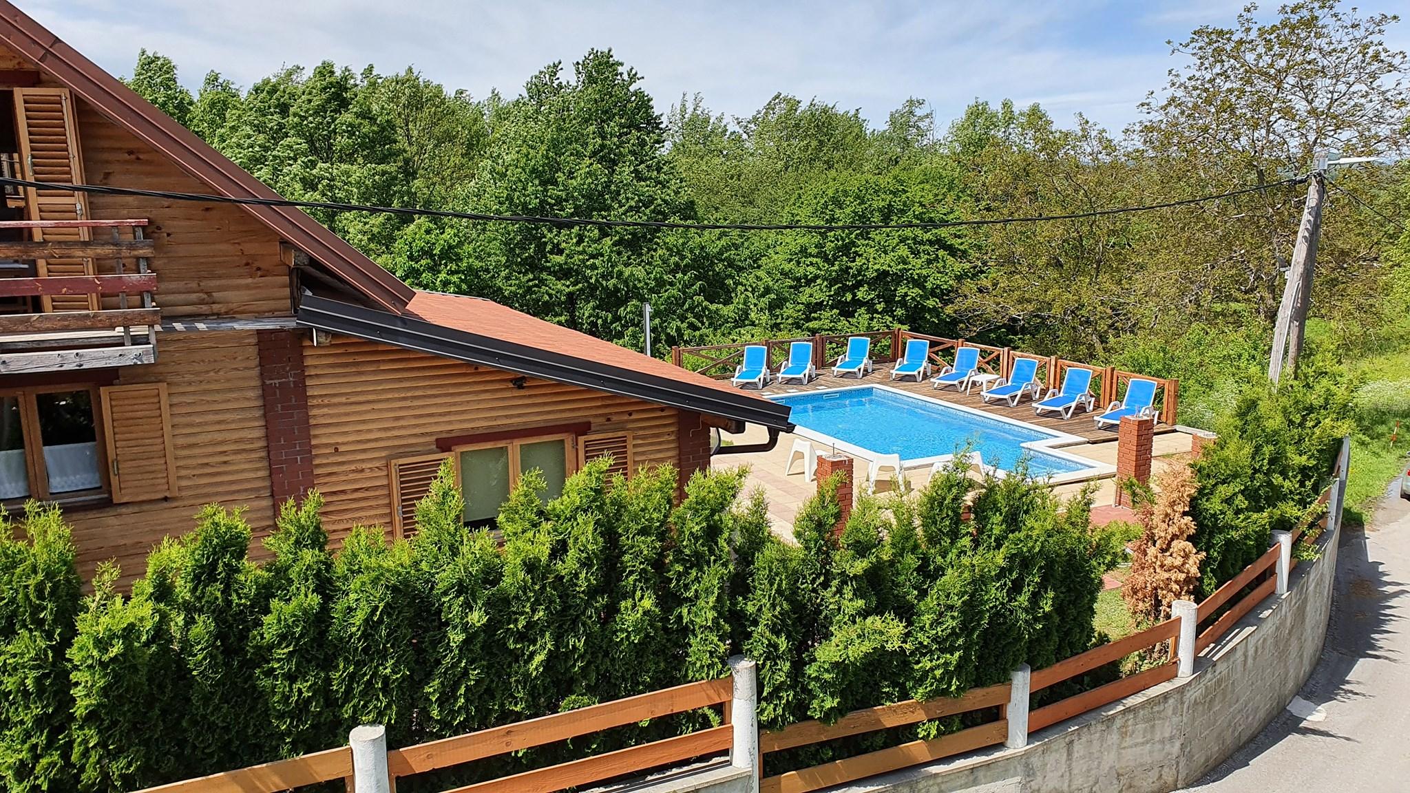 kuća za odmor, mala vila rebeka