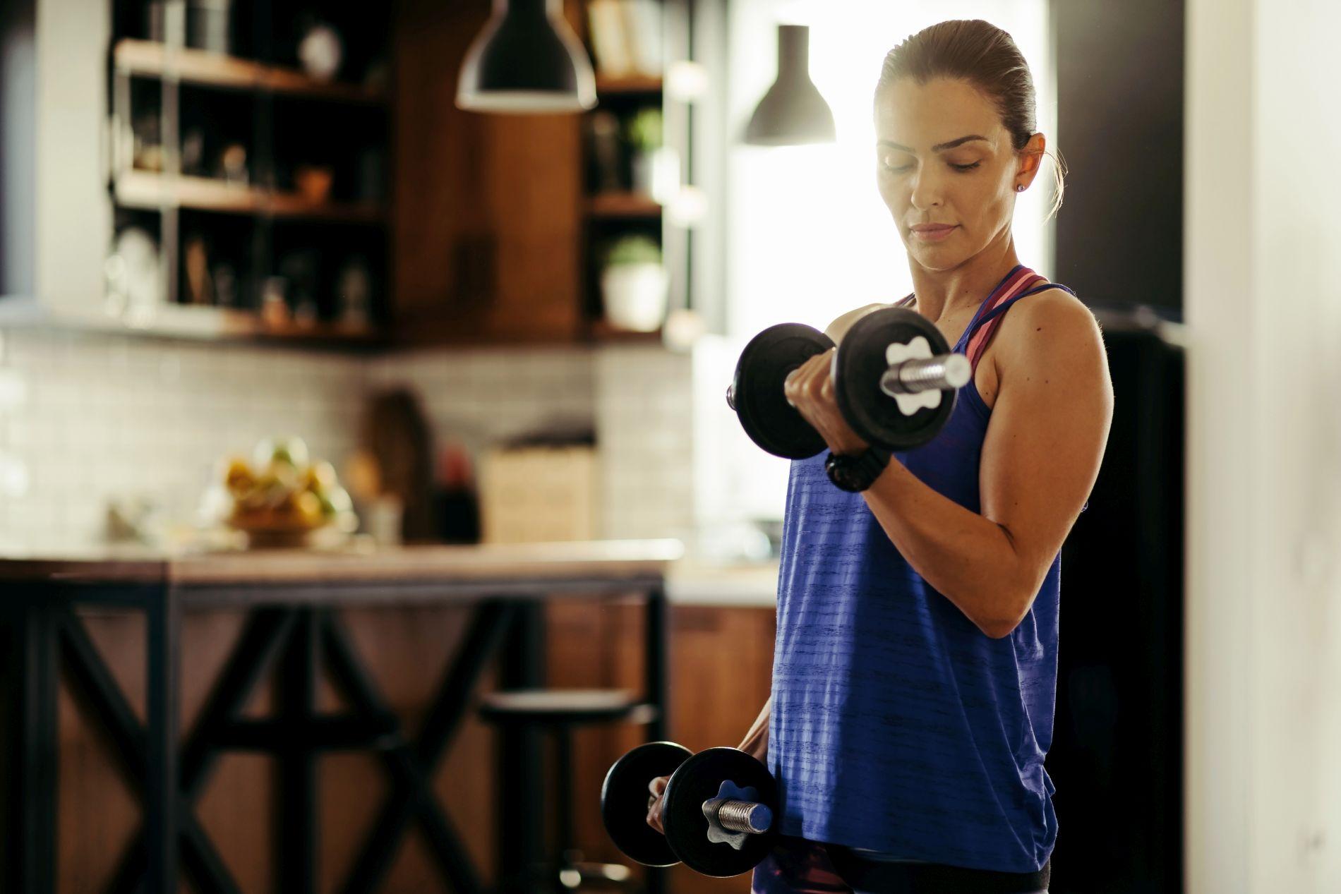 dobivanje mišića, vježbanje, mišići