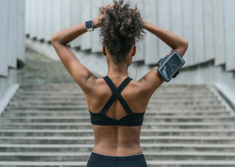 kosa tijekom vježbanja, kosa, vježbanje