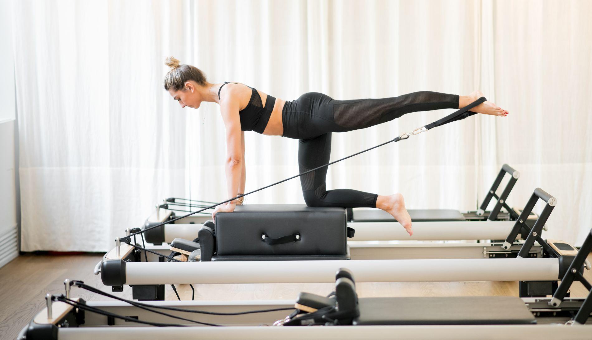 pilates reformer, vježba, vježbanje, pilates, reformer