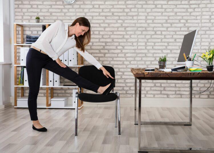 dugotrajno sjedenje, vježba za dugotrajno sjedenje, pet minutna vježba