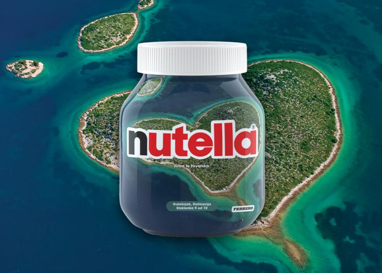 Nutella slavi ljepote Hrvatske