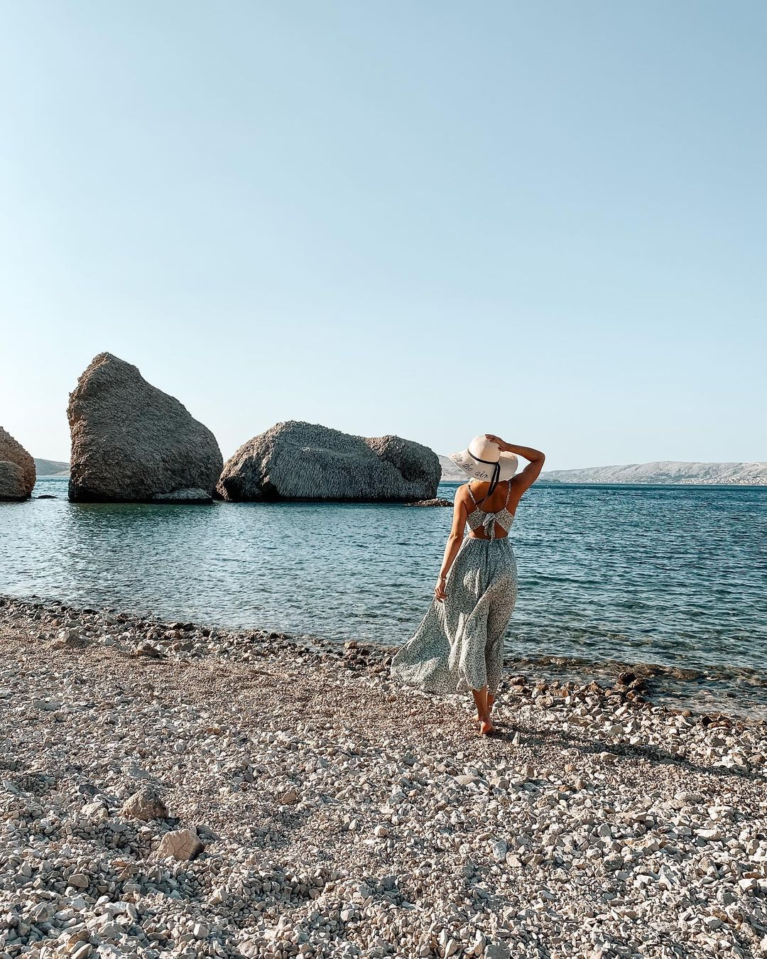 plaža beritnica, otok pag