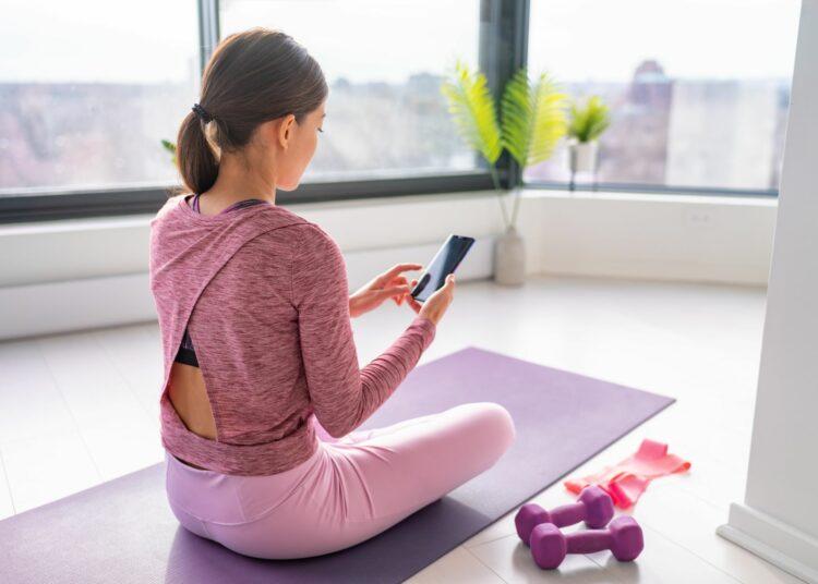 aplikacije za vježbanje, vježbanje