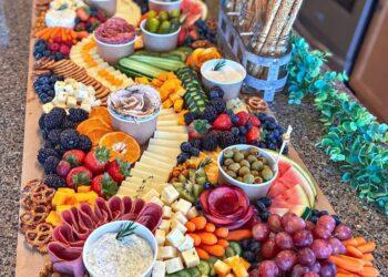 grazing table, trend, instagram, dekoriranje hrane