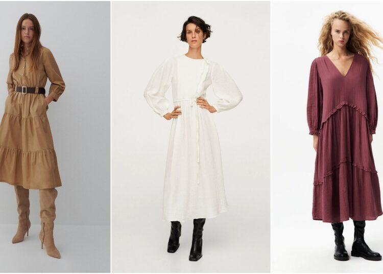 haljina za jesen, jesenska haljina